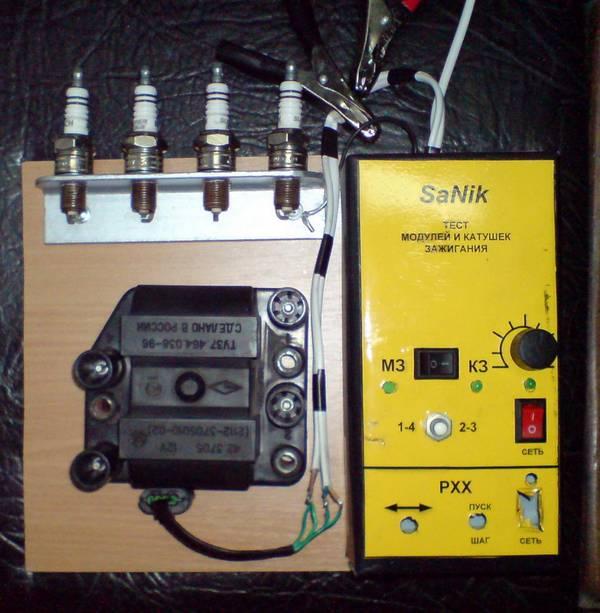 Приборы для проверки модуля зажигания своими руками 54